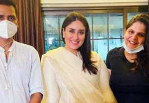 Kareena Kapoor returns to work after pregnancy announcement, see glow on her face