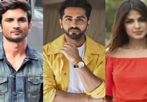 Sushant case: Ayushmann Khurrana trolled for allegedly sympathising with Rhea Chakraborty