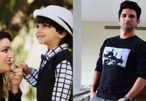 Sushant's Sister Posts Son's Pic as he got ready for the first day of school