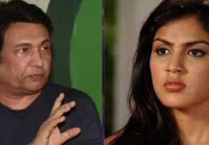 Shekhar Suman lashes out at Sushant 's girlfriend Rhea Chakraborty