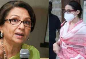 Sara Ali Khan's grand mother Sharmila Tagore reacts on her drugs case