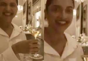 Deepika Padukone's throwback video viral with wine glass Check out