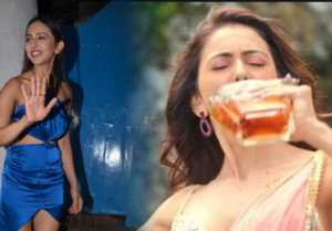 Rakul Preet Singh's drunk connection before drugs connection ; Know truth