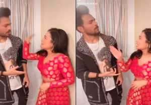 Neha Kakkar Slapped brother Tony Kakkar, Funny Video Viral