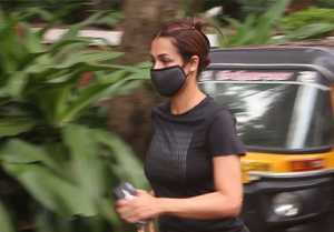 Malaika Arora enjoys evening walk post Corona virus  recovery