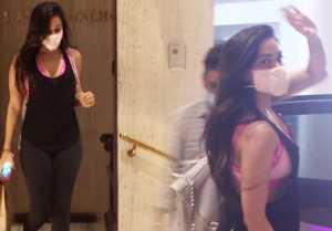 Kiara Advani reaches at Manish Malhotra house in new style; Watch video