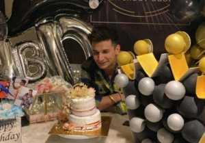Prince Narula celebrates his birthday with wife Yuvika and friends
