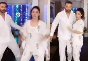 Ankita Lokhande dance with boyfriend Vicky; Sushant fans react