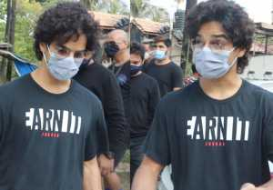 Ishaan Khattar's New Make-over have a look