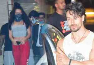 Tiger Shroff & sister Krishna Shroff spotted at gym in Juhu