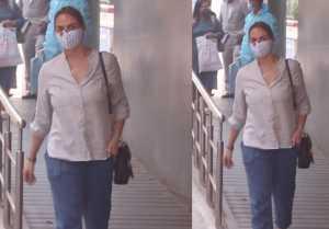 Esha Deol Spotted at Hinduja Hospital Khar