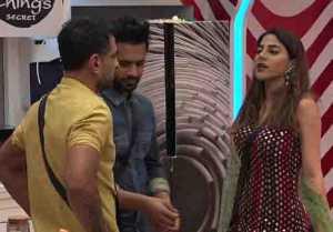 Bigg Boss 14 Promo: Eijaz Khan and Pavitra Punia Fights Nikki interfere Between them