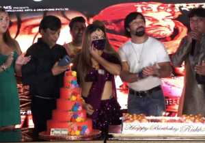 Rakhi Sawant celebrates her birthday along with the music release of Vinashkaal