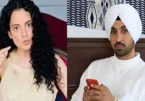 Kangana Ranaut gets angry on Diljit Dosanjh; Here's why