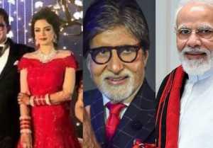 Aditya Narayan Shweta Agarwal Receives PM Modi Amitabh Bachchan LETTER