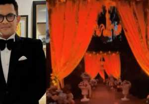 Aditya Narayan Shweta Agarwal Reception Party Venue VIDEO VIRAL
