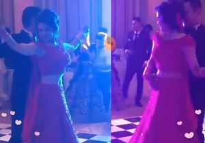 Aditya Narayan Shweta Agarwal Reception Romantic Dance LATEST VIDEO