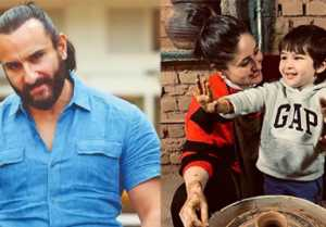 Saif Ali Khan responds to trolls targeting Taimur's pottery class with Kareena