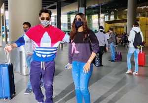 Neha Kakkar's ex Himansh Kohli spotted at airport; Watch video