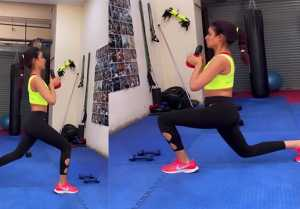 Bigg Boss 14; Jasmin Bhasin Hard workout before Re-entering in house