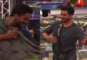 Bigg Boss 14; Aly Goni dances imaginary with Jasmin Bhasin