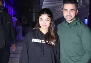 Shilpa Shetty and Raj Kundra Spotted at Hakkasan Bandra for dinner
