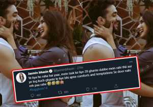 Bigg Boss 14: Will Jasmin Bhasin enter in Bigg Boss House, know what she has tweeted