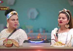 Bigg Boss 14 Promo; Rakhi Sawant & Rubina Dilaik fight over Kitchen Duty