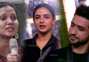 Bigg Boss 14; Jasmin  lashes out at Journalist for asking question to Aly Goni