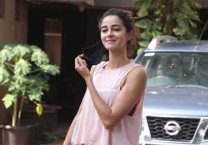 Ananya Panday snapped at Bandra