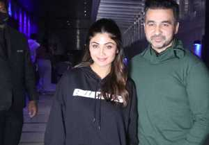Shilpa Shetty and Raj Kundra Spotted at Hakkasan Bandra for dinner