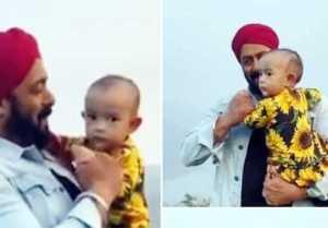 Salman Khan dance Video with sister Arpita Khan's Baby Ayat