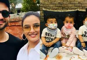 Illham Goni's Kids gets bore while Jasmin & Aly Fun; Check Out