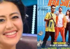 Jasmin Aly Song Tera Suit: Neha Kakkar reacts on Jasly song poster Tera Suit