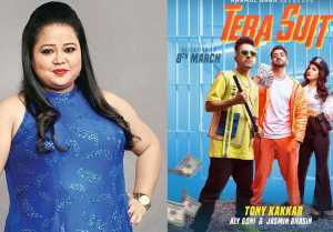 Bigg Boss 14: Bharti Singh reacts on Jasmin Bhasin's Upcoming Song Tera Suit's Poster
