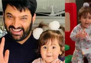 Kapil Sharma's daughter Anayra dances on Honey Singh track goes viral; Watch video