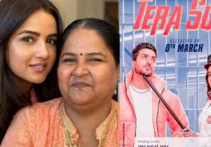 Jasmin Bhasin's Mother reacts on Jasly song Tera Suit Poster; Check Out