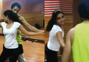 Jasmin Bhasin & Sidhant Gupta's dance practice throwback video goes viral ; Check out !