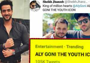 Aly Goni ALYGONITHEYOUTHICON is Trending on Social media; Check out