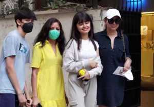 Mahima Chaudhry spotted with kids at Clinic in Juhu; Watch Video
