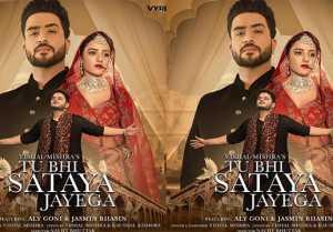 Jasmin Bhasin & Aly Goni's song Tu Bhi Sataya Jayega's poster out