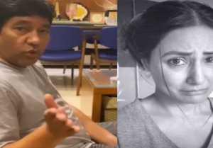 Hina Khan & her father's cute bonding video