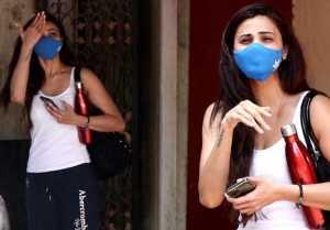 Salman Khan Co-Star Daisy Shah Snapped by media at Bandra after Workout
