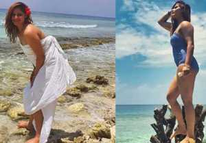 Arrti Singh shakes internet with her bikini look from Maldives Vacation