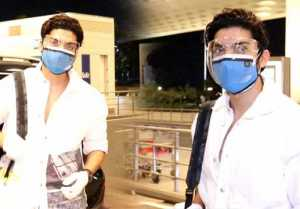 Gurmeet Chaudhary spotted at Mumbai airport during late night; Watch video