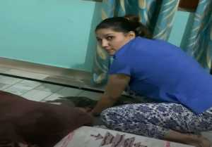 Sapna Choudhary share a video of her where she is cleaning, Check Out ?