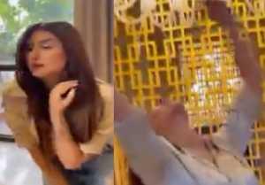 Mahira Sharma makes new reel on  AURORA Runaway at Dubai ; Watch video