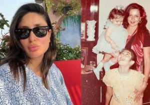 Kareena Kapoor with Mother & sister childhood throwback pic goes viral