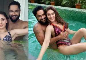 Shefali Jariwala's bold Bikini Look with Husband goes viral On Social Media