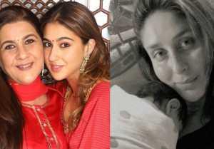 After the Divorce of Saif Ali Khan and Amrita Singh, Sara Ali Khan talked about Kareena's children